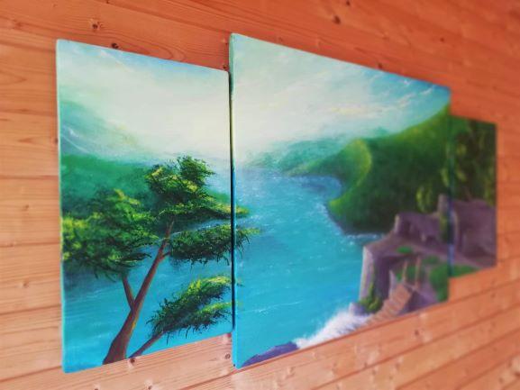 landschaftsmalerei acrylmalerei