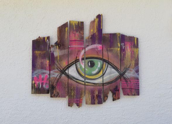recyclingart recycling holz kunst
